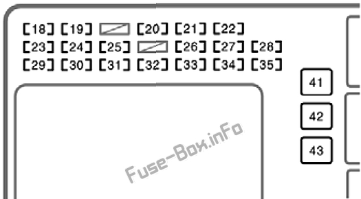 Fuse Box Diagram Toyota Corolla (E120/E130; 2003-2008) | 2003 Toyota Corolla Fuse Box Diagram |  | Fuse-Box.info