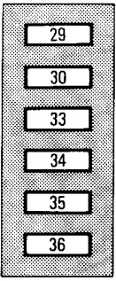 Under-hood fuse box diagram: Toyota Previa (1995, 1996, 1997)