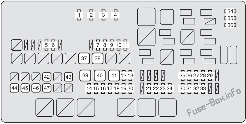 Fuse Box Diagram Toyota Tundra (XK50; 2007-2013)Fuse-Box.info