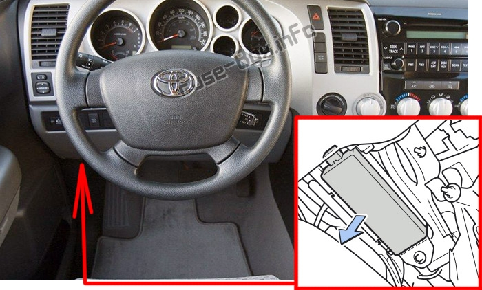 [DIAGRAM_38YU]  Fuse Box Diagram Toyota Tundra (XK50; 2007-2013) | 2007 Tundra Fuse Box Location |  | Fuse-Box.info