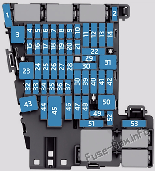 Fuse Box Diagram Volkswagen Golf VII (Mk7; 2013-2020) | 2014 Vw Gti Fuse Box Diagram |  | Fuse-Box.info