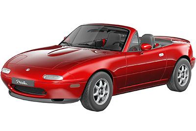 Fuse Box Diagram Mazda MX-5 Miata (NA; 1989-1997)
