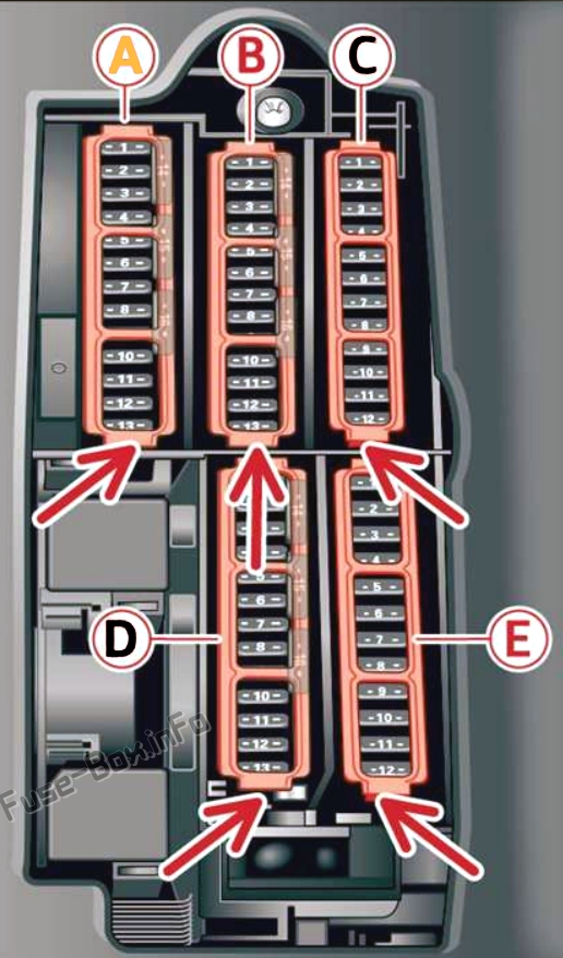 Fuse Box Diagram Audi Q5  Fy  2018