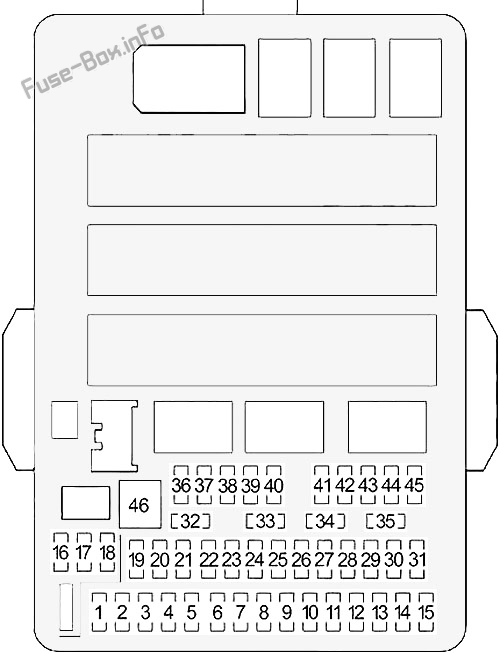 fuse box diagram honda civic (2012-2015)  fuse-box.info